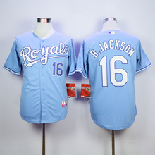 MLB Men's KANSAS CITY ROYALS BO JACKSON George Brett Jerseys(China)