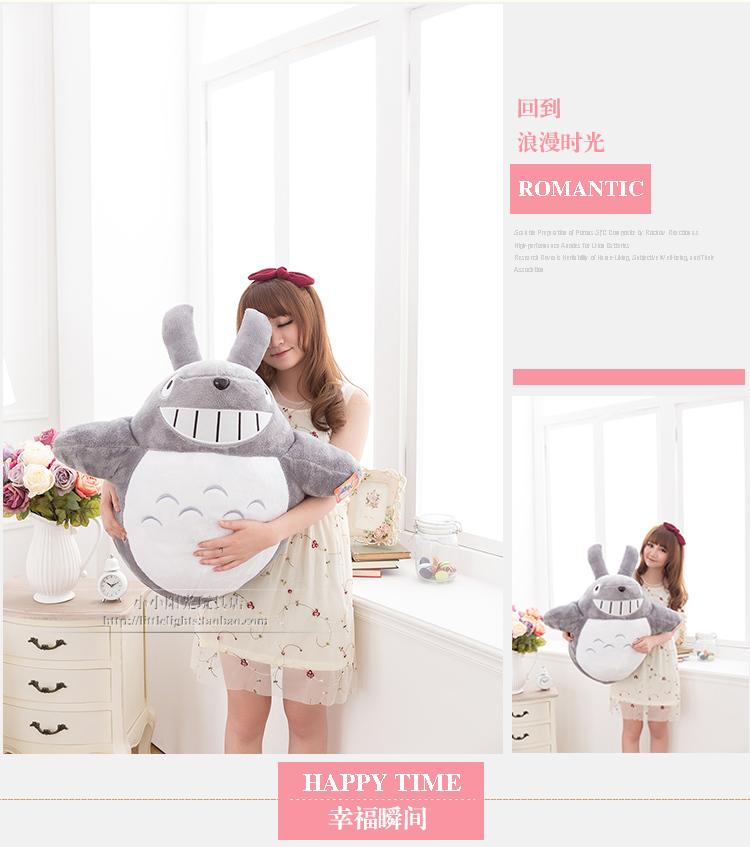 Japan anime plush toy ,75cm Hayao Miyazaki Totoro doll , Christmas gift w2409(China (Mainland))