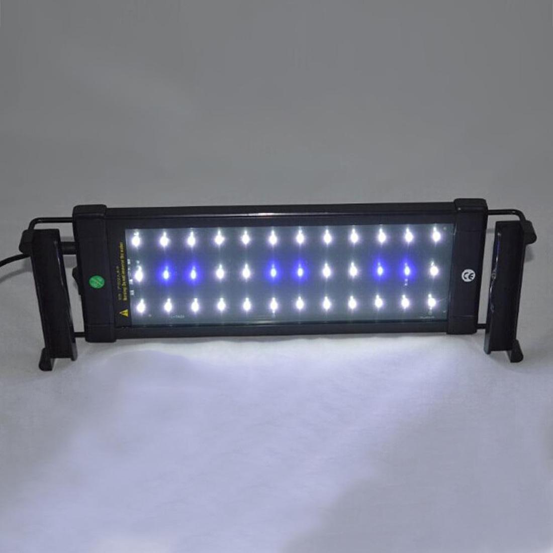 Fish aquarium light bulbs - High Quality 6w Ultra Thin Led Aquarium Lighting Bulb Lamp New Blue Light 2 Mode Abs