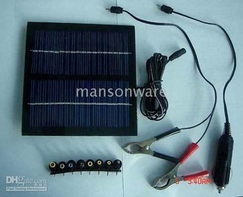 - solar pc battery charger -18Volt 2W/solar charger for car & and ther 12V battery