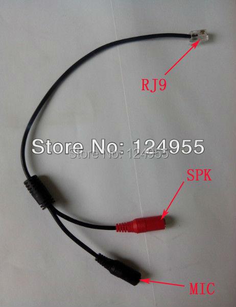 Headset Convertor Buddy Adapter:PC Headset Adapter RJ9 For AVAYA CISCO 79XX IP Phone(China (Mainland))