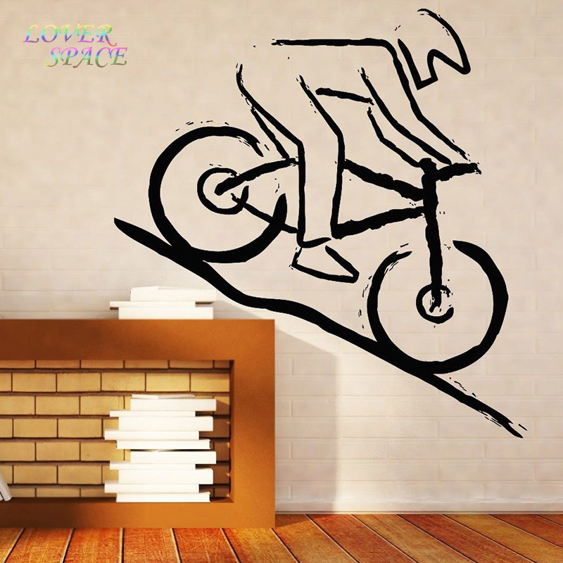 Wall Stickers Home Decor Wall Vinyl Sticker Decal Mountain