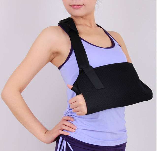 Deluxe Adjustable Breathable Medical Shoulder Arm Sling Clavicle Fracture Surgery Support Shoulder Dislocation Broken Arm(China (Mainland))