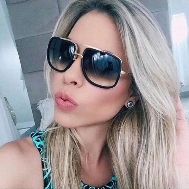 2016 Новые Дизайнерские Мужчины Старинные Очки Люксовый Бренд Солнцезащитные очки ...