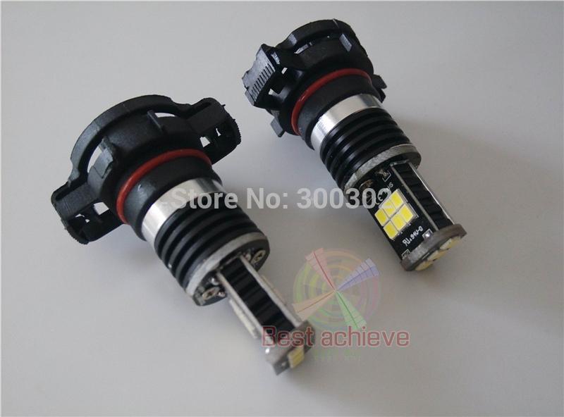 2PCS H16 5202 11W 600 Lumens 15LED 2835 Samsung LED Fog led Light Bulb 10-30V more bright than 7.5W CREE Q5 27SMD(China (Mainland))