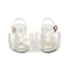 מיני מליסה מיקי Bow נעלי 2019 חדש קיץ בנות ג 'לי נעל ילדה החלקה ילדים חוף סנדל פעוט סנדלי נסיכה(China)