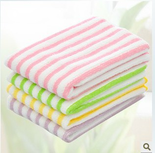 5pcs 2016 new free shipping 1306 microfiber water color bar kitchen cleaning cloth cleaning cloth dish towels(China (Mainland))