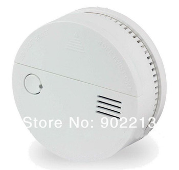 Free shiping 2pcs/lot long battery life 3 years Photoelectric Smoke fire Alarm detector DC 3V home & vehicle using