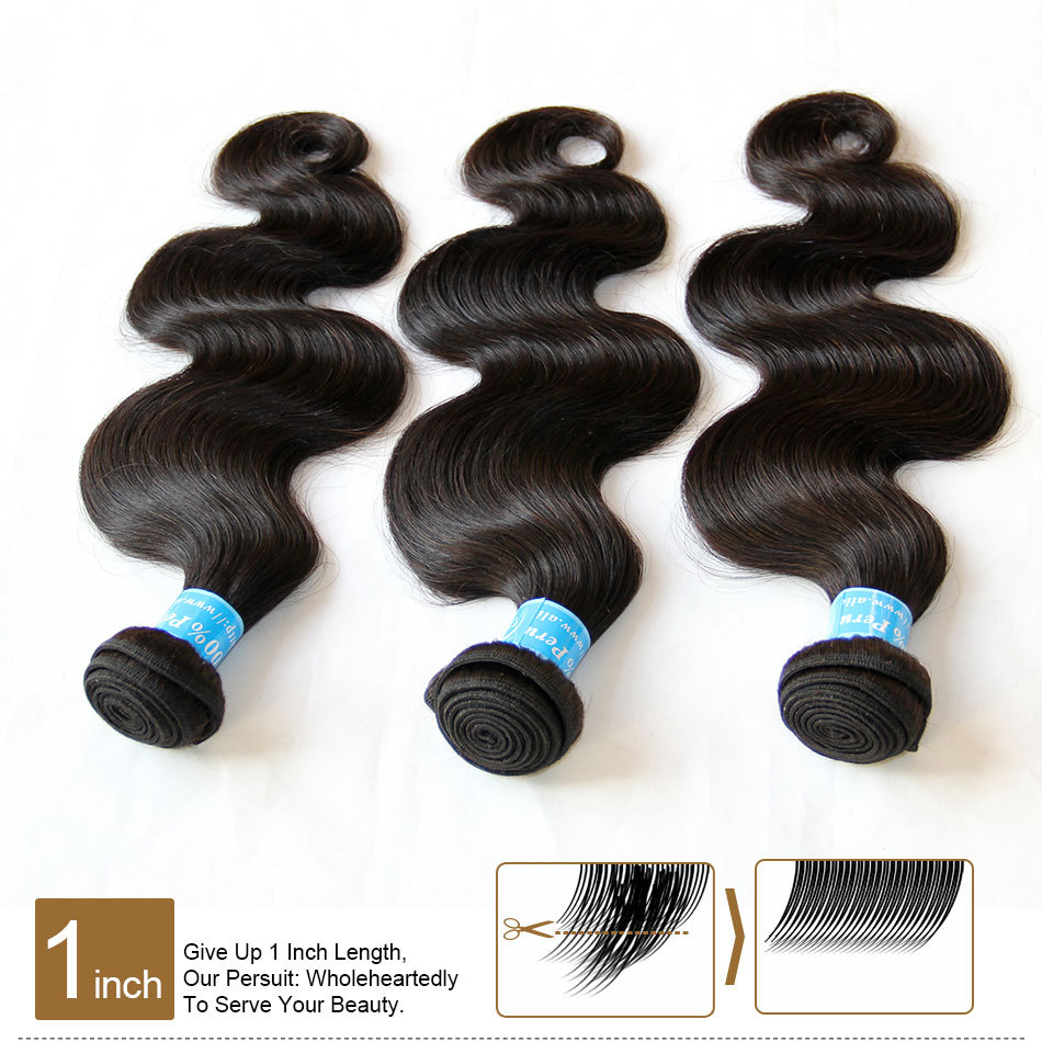 Best Peruvian Virgin Hair Body Wave Unprocessed Human Hair Extension 6A Peruvian Body Wave 3/4Pcs Peruvian Hair Weave Bundles