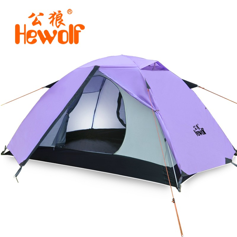 Outdoor Jungle Beach 2 Layer Tent Camping Tent Aluminum Size:200*140*110CM 1595 About 2.65KG(China (Mainland))