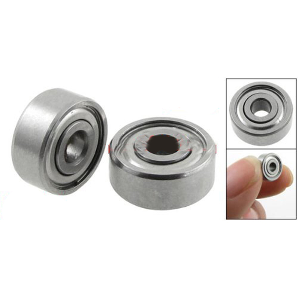 USA Delivery 5 pcs Double Sealed 3 x 10 x 4mm Deep Groove Ball Bearings 623Z(China (Mainland))