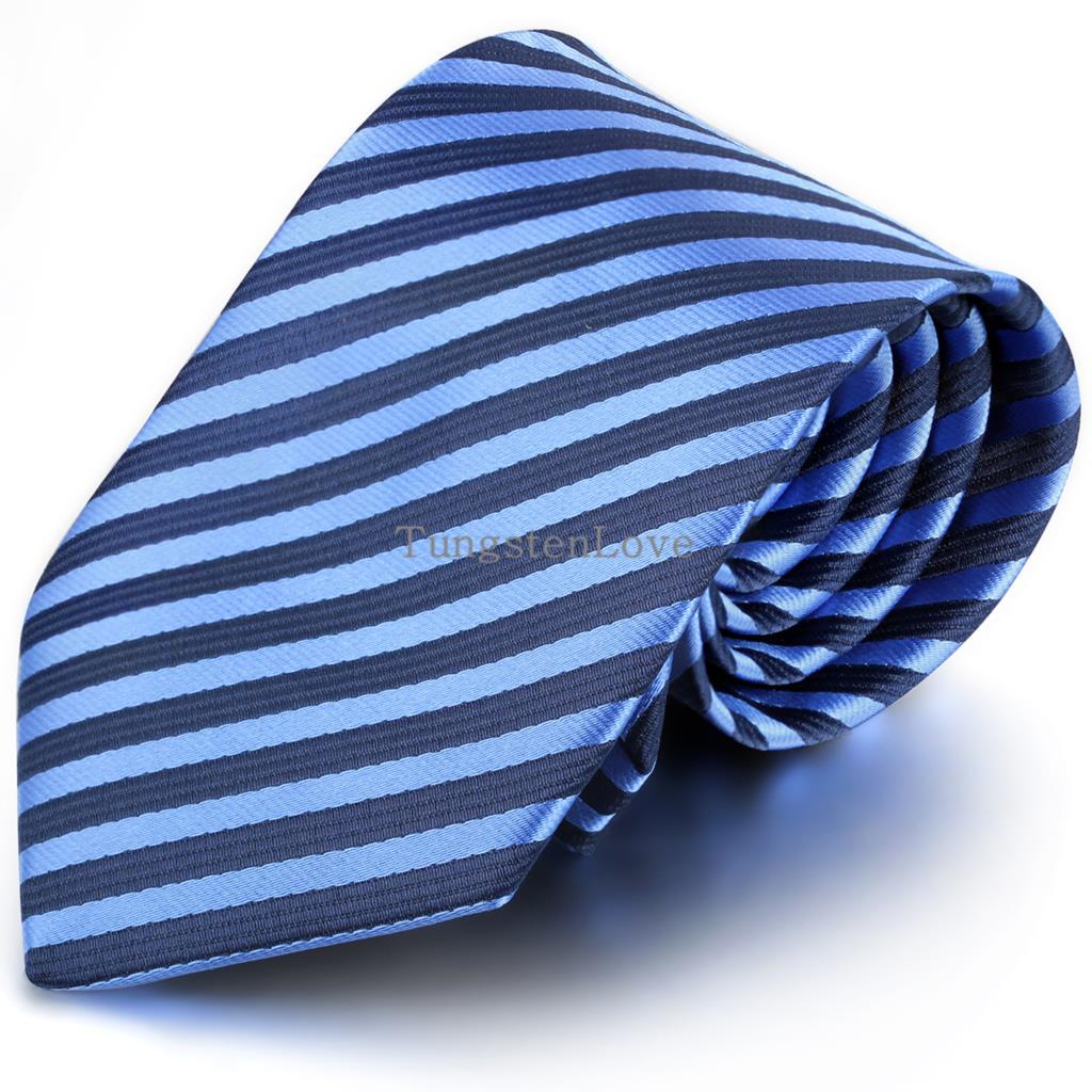 3 Style Brand Silk Neck Tie For Men Blue Striped Corbatas 8.5 cm Gravata Slim Corbatas Hombre 2015 Social Event Wedding Dress(China (Mainland))