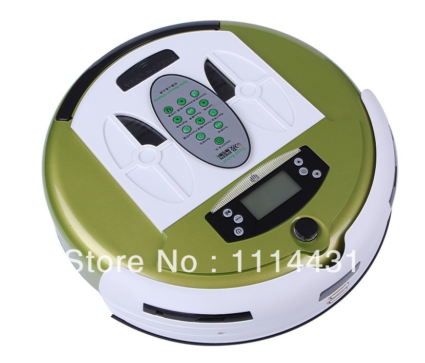 (Free to Russia)Intelligent Robot Vacuum Cleaner 4 in1 2014 New products multifunctional cheap robot vacuum cleaner touch button(China (Mainland))
