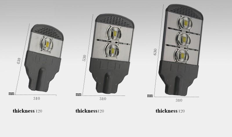Купить 50/100/150/200/250/300 Вт обломок Уличный Свет IP66 дорога пейзаж лампа 130lm/W AC85-265V Meanwell Высокой Мощности лампы