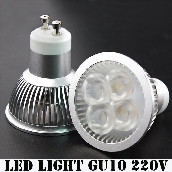 [해외]슈퍼 밝은 6W 주도 GU10 전구 빛 따뜻한 화이트 220V 240V ..