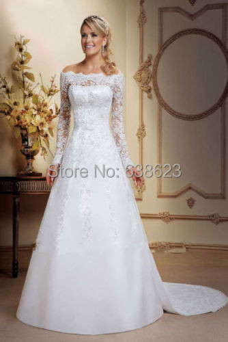 lace wedding dress Picture - More Detailed Picture about DAW1082 ...