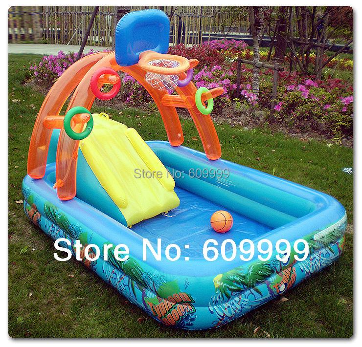 acheter multifonctionnel ch teau forme gonflable pataugeoire piscine pour les. Black Bedroom Furniture Sets. Home Design Ideas