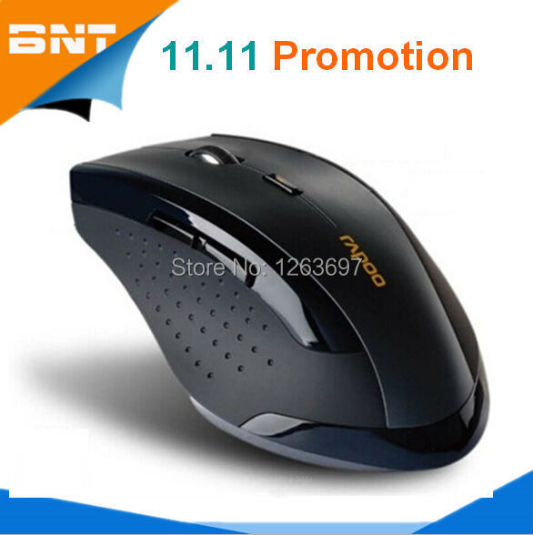 New 2015 Wireless Mouse Rapoo Brand Gaming Mouse Wireless Mice 2.4GHz Computer Mouse for Laptop Notebook Bluetooth Optical Mouse(China (Mainland))