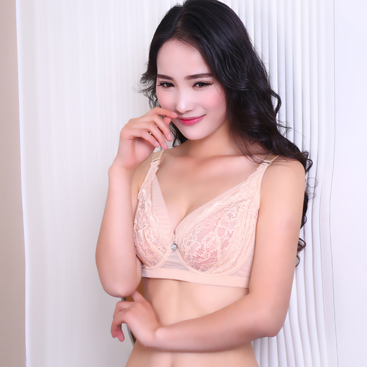 2015 Special Offer Everyday Cotton Bras Hot Sale Solid Breathable Push Up Women Bra Back Closure Adjusted-straps Lace Bralette(China (Mainland))