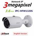 Original Dahua 3MP Mini Bullet IP Camera IPC HFW1320S HD Network IR CCTV Cam PoE Support