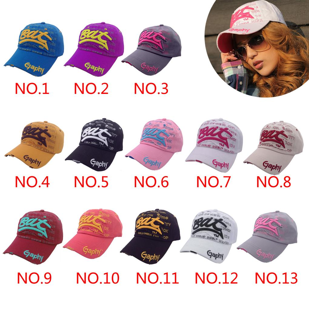 13 colors Spring 2015 Brand fashion New Cotton Mens Hat letter Bat unisex Women hats baseball cap snapback casual caps