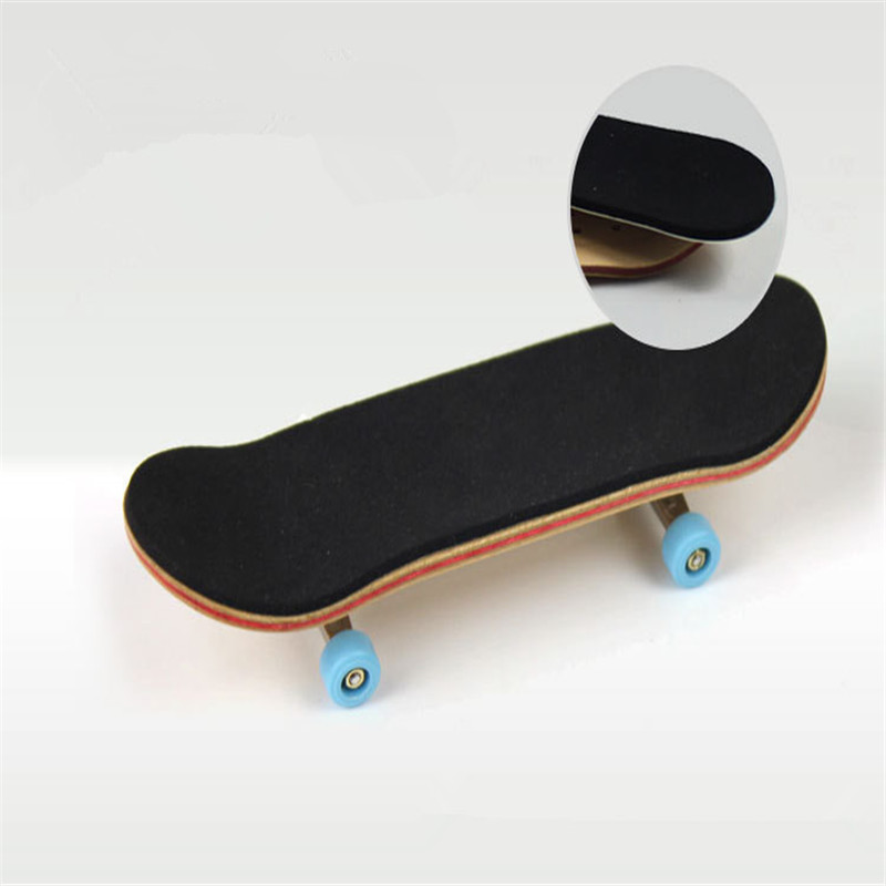 Hot Selling Sale Professional Maple Wood Finger Skateboard Alloy Stent Bearing Wheel Fingerboard Adult Novelty Toy For Gift(China (Mainland))