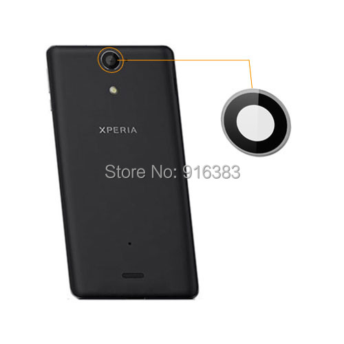 Free Shipping Camera Lens Replacement Parts for Sony Xperia V LT25i LT26w original and New Arrival(China (Mainland))