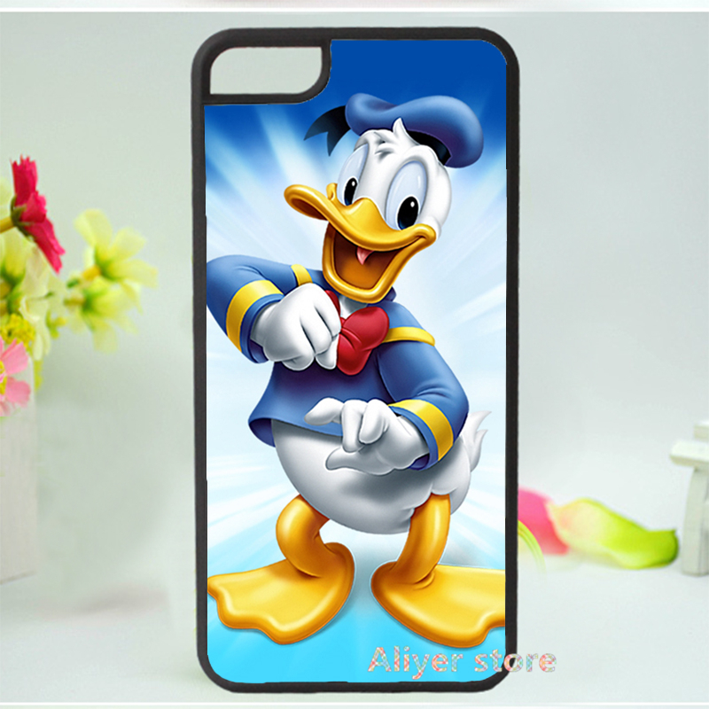 Donald duck mobile phone case cover for iphone 4 4s 5 5s 5c SE 6 6s & 6 plus 6s plus E65(China (Mainland))