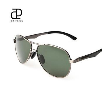 FEIDU 2015 Aluminum-magnesium Alloy Polarized Sunglasses Oculos De Sol Masculino Driver Glasses Outdoors Brand Designer With Box