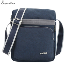 Soperwillton New 2016 Casual Nylon Men's Shoulder Bags Sports Crossbody Zipper Messenger Bags Male Design Travel Bags #J711