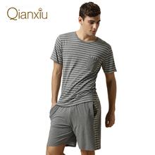 Summer Nightwear Mens Short Set Pajamas Sexy Men Sleepwear Mens Kimono Cotton Pigiama estate uomo Cotton Pyjamas Pyjama Homme(China (Mainland))