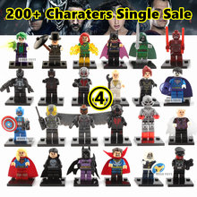 legoelieds Marvel Super Heroes The Avengers Minifigures Single Sale Penguin batman joker clown Building Blocks Model Bricks Toys