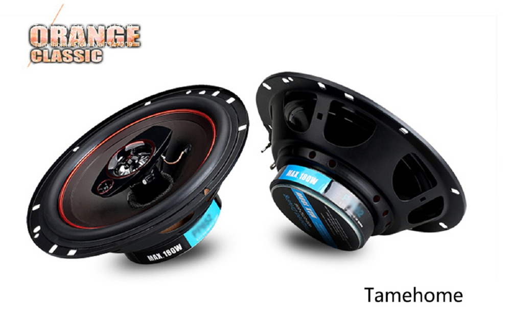 Tamehome Dropshipping Car High Power Bass Audio Speakers set Automotive Auto 6.5 inch 2-way Coaxial Car Speaker Tweeter Host<br><br>Aliexpress