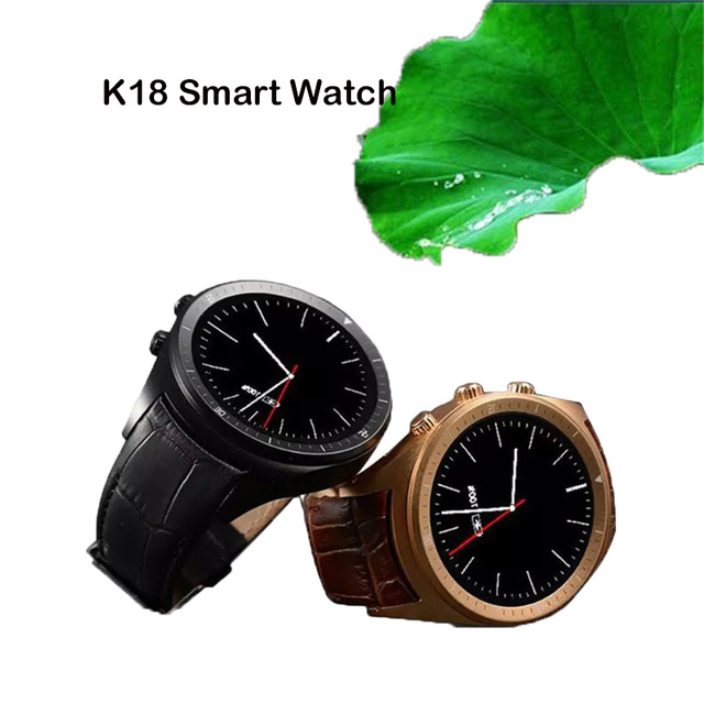 2016 K18 Smart Watch 3G Android 4.4 SmartWatch Support Heart Rate WiFi Bluetooth Watch For Phone Samsung Huawei Xiaomi(China (Mainland))