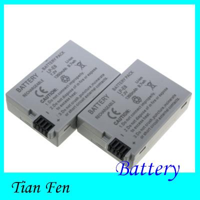 Hot Sale 2pcs Battery LP-E8 LP E8 LP E8 Rechargeable Li ion Battery For Canon 550D 600D Rebel T2i EOS Kiss X4(China (Mainland))