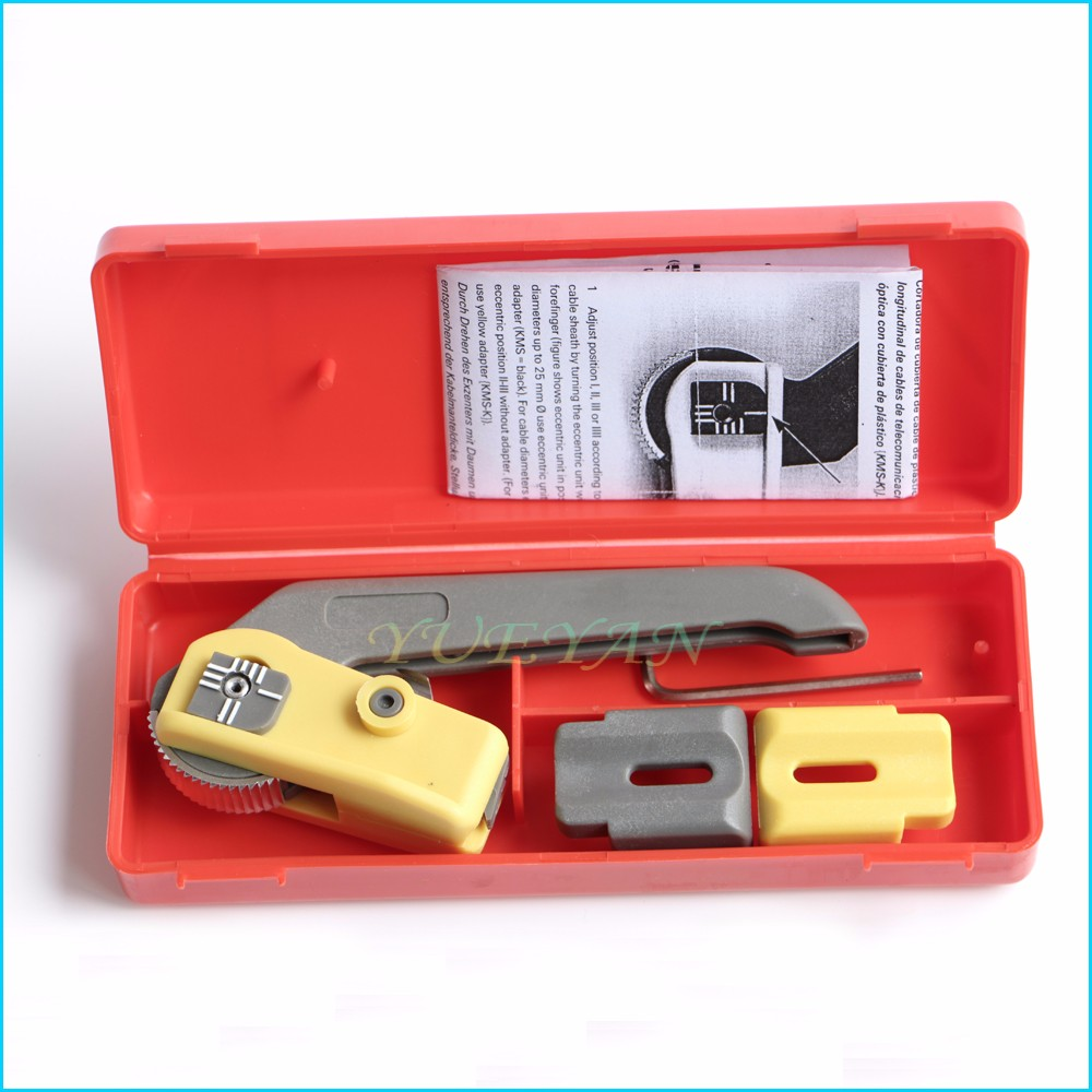 Buy Free shipping Optical Cable Sheath Slitter KMS-K Cable Longitudinal Cable Cutter Cable Stripping Knife Stripper cheap