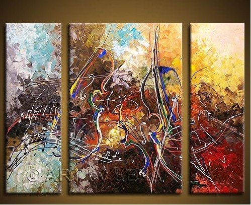 Dafen oil paintings decorative frameless abstract painting home decoration branches c102(China (Mainland))