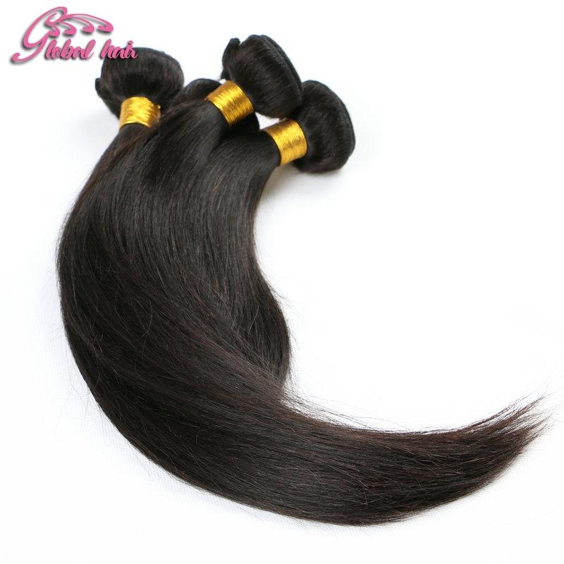 Over One Year Ali Moda Hair Unprocessed Length12-32 4pcs/lot  Virgin Brazilian Straight Human Hair Weft <br><br>Aliexpress