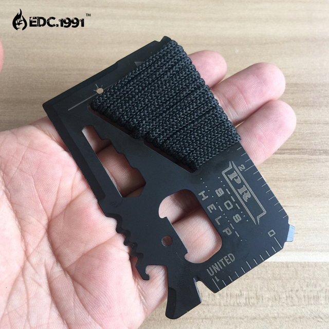 Survival Credit Card Multi Tool 12 in 1