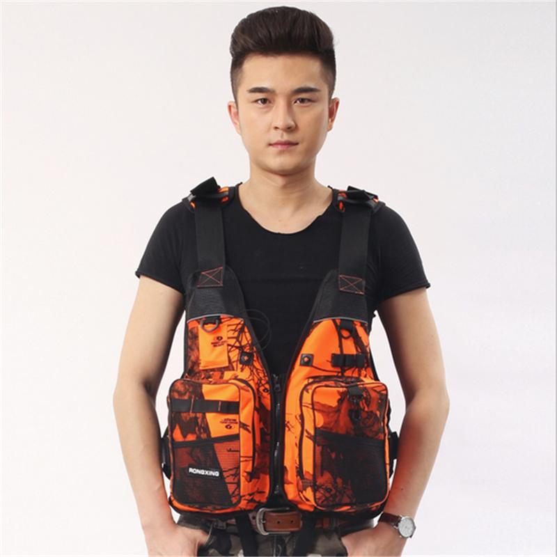 Professional buoyancy life vest 6 color Floating for kayak, Kitesurf ,Surfing,Boat fishing jacket Lifejacket,Fishing vest(China (Mainland))