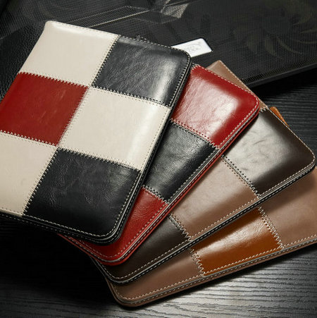 20pcs/lot wholesale pu leather case for Apple iPad mini luxury wallet card slots +stand cover for ipad mini buy in online(China (Mainland))