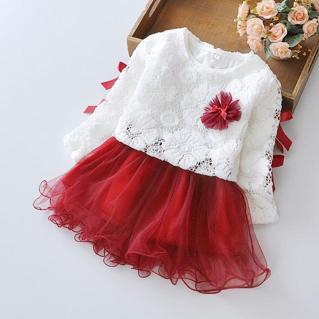 والعمر انتي♥ Filles-robe-fleur-de
