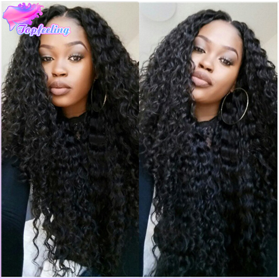 Фотография Glueless Full Lace Human Hair Wigs For Black Women Brazilian Kinky Curly Full Lace Wig With Baby Hair 7A Cheap Lace Front Wigs