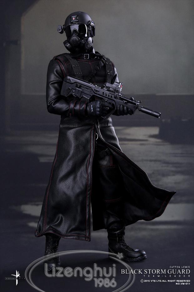 Virtual Toys VTS Black Storm Guard Resident Evil Retribution Soldier 1/6 Scale VM-011(China (Mainland))