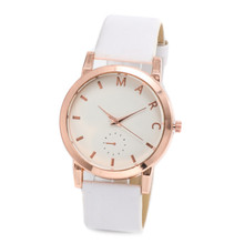 Fashion trend PU leather  casual Watch Women 18K gold plated Watches ladies wristwatches girls watch Female Clock montre femme