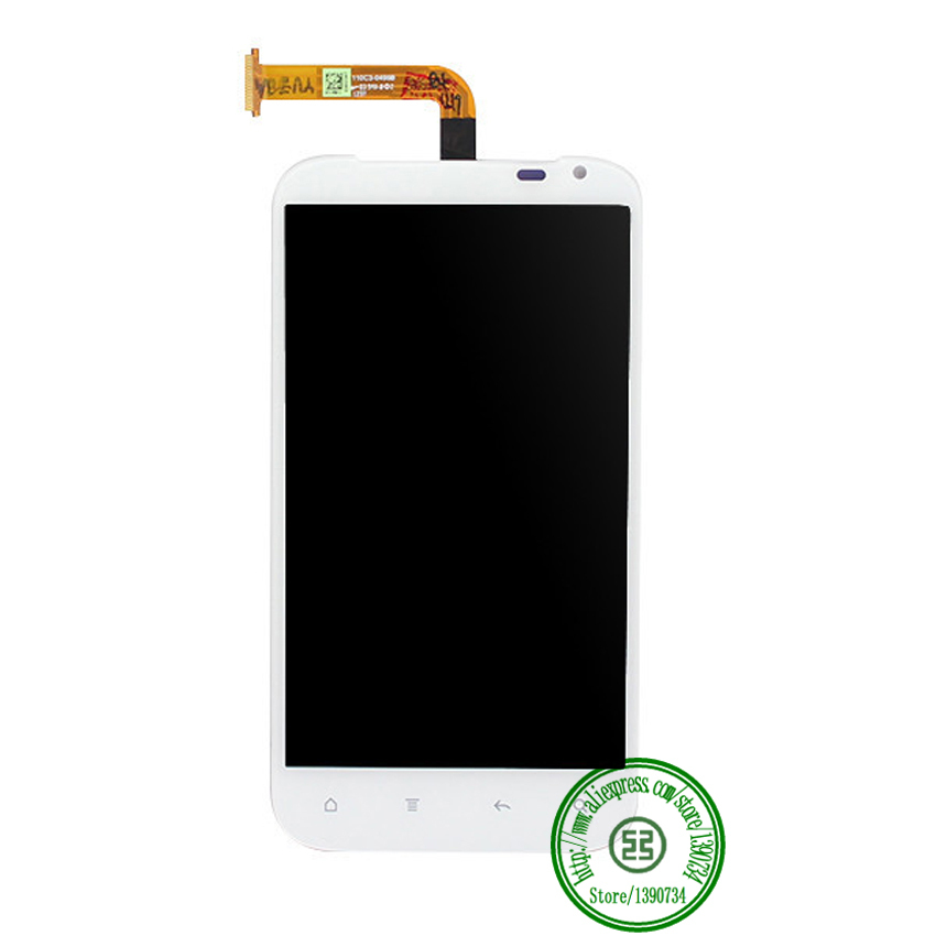 100% Working LCD Display Screen Touch Digitizer Assembly For HTC Sensation XL X315e G21 White Free shipping