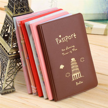 6Colors Travel Passport Holder Document Card passport case passport cover passport holder Protect Cover Free Shipping