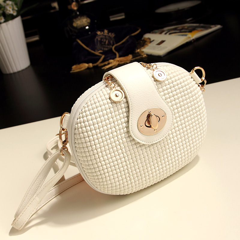 Unique Brand Mini Bags Dropshipping New arrival 2016 summer mini candy color white messenger bag small bag women's bags(China (Mainland))