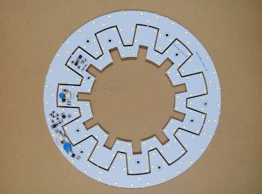 Magnet/screw installation Ring type AC SMD LED pcb board 12W 20W 21W ceiling light led module 2835(China (Mainland))