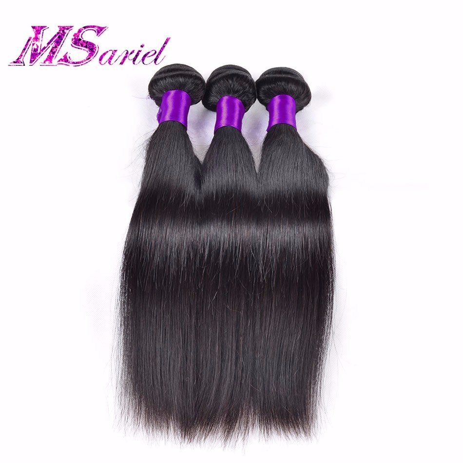 7A Soft Peruvian Virgin Hair Straight 3 Bundles Unprocessed Straight Hair Extensions Cheap Real Human Hair Bundles Free Shipping